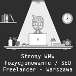 Freelancer - pozycjonowanie - SEO - Warszawa